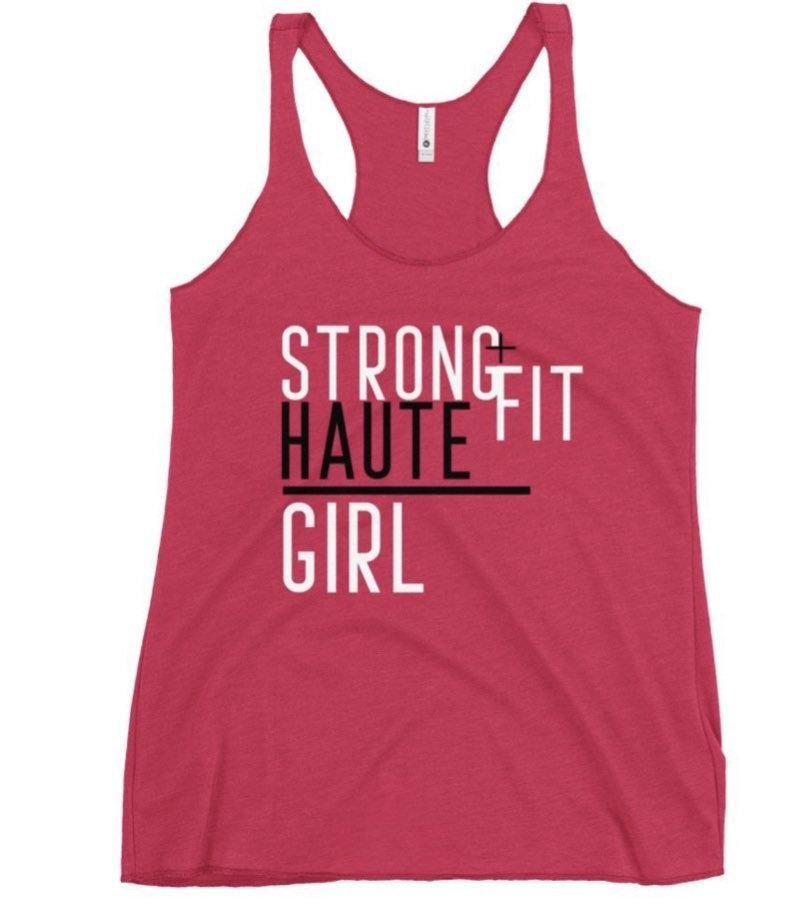 Strong Haute Girl Ruin A Run Tanktop AL17M1