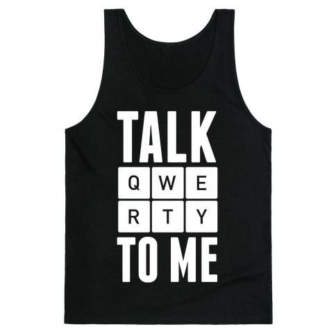 Talk to Me Tank Top SR3M1